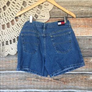 """Tommy Hilfiger Vintage 90's 10"""" Rise Denim Shorts"""